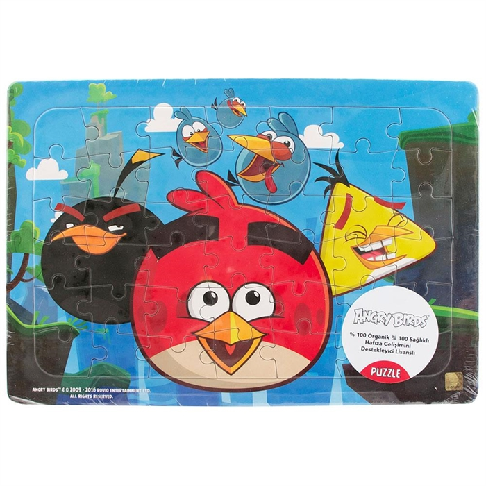 Angry Birds 42 Parça Frame Puzzle