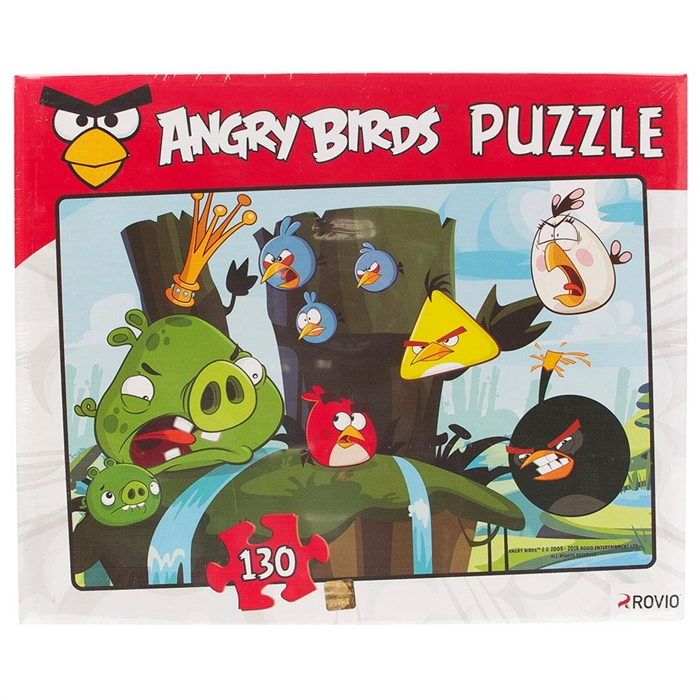 Angry Birds 130 Parça Puzzle