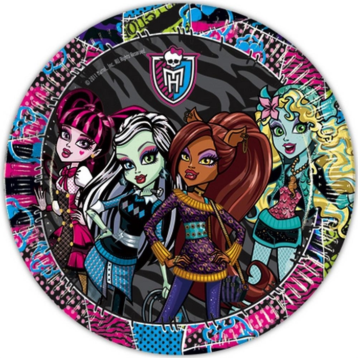 Monster High Tabak 8'li