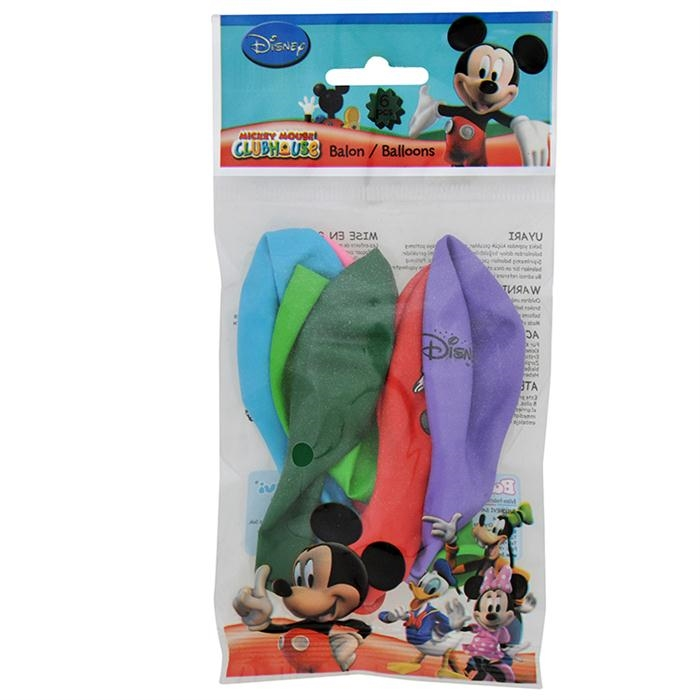 Mickey Club House Balon 6'lı