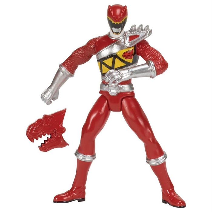 Power Rangers Dino Charge Red Ranger Figür 10 cm