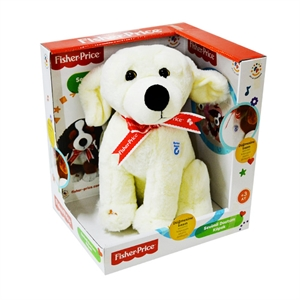 Fisher Price Oturan Peluş Köpek Model 1