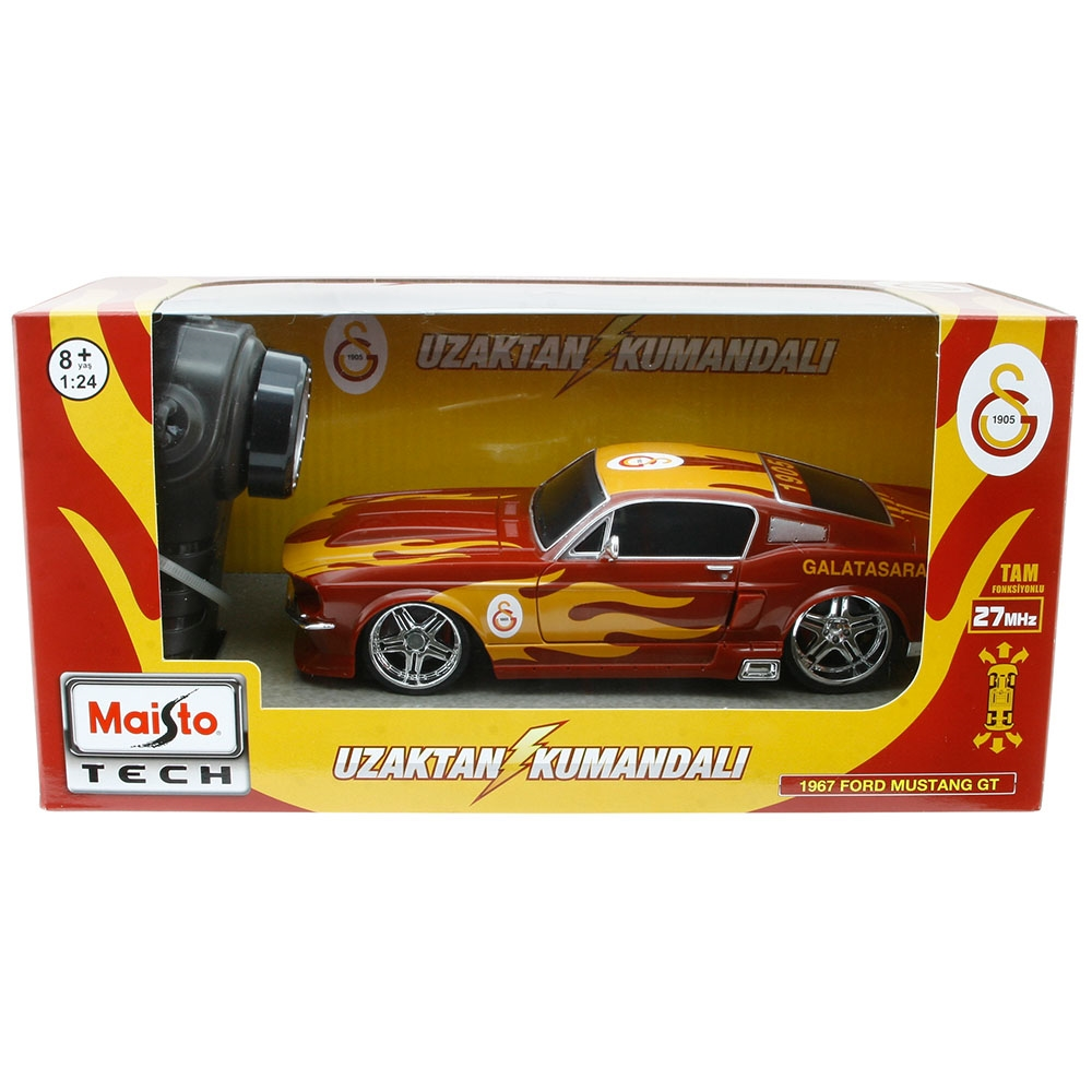 Maisto Galatasaray 1967 Ford Mustang Rc Araba 1:24