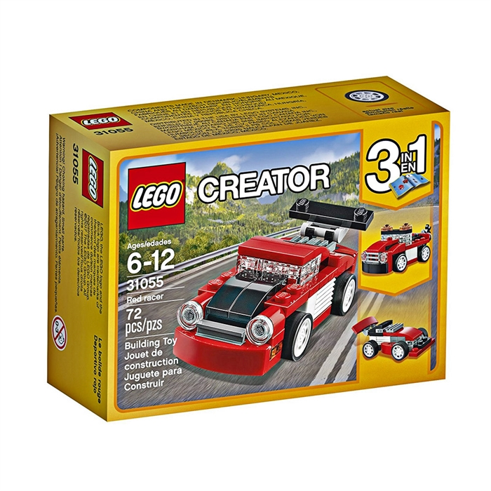 Lego Creator Red Racer 31055