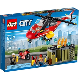 Lego City Fire Res Unit 60108