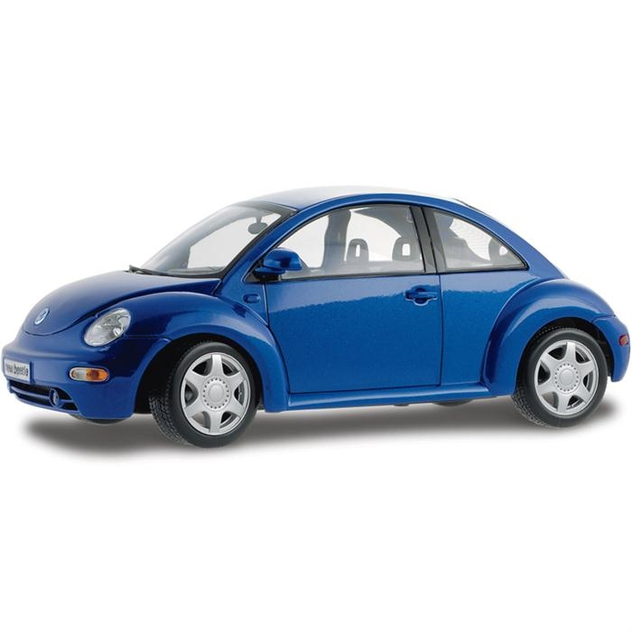Maisto Volkswagen New Bettle 1:18 Model Araba S/E Mavi