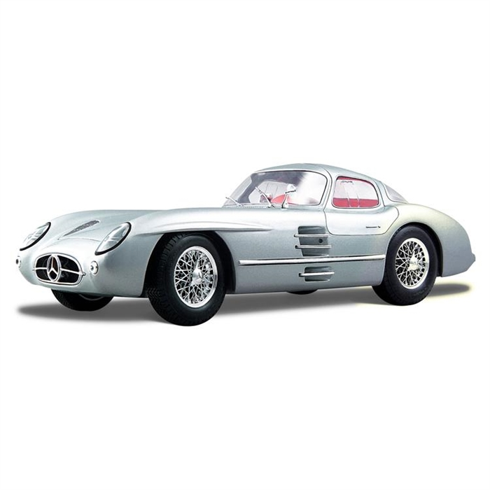 Maisto Mercedes Benz 300 Slr Coupe 1 18 Model Araba P/E Gri