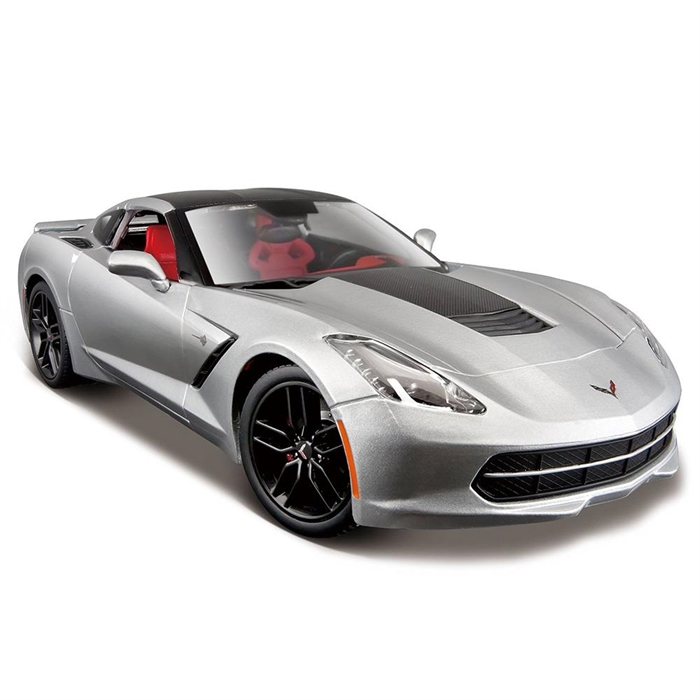 Maisto 1:18 2014 Corvette Stingray Z51 Exclusive Model Araba