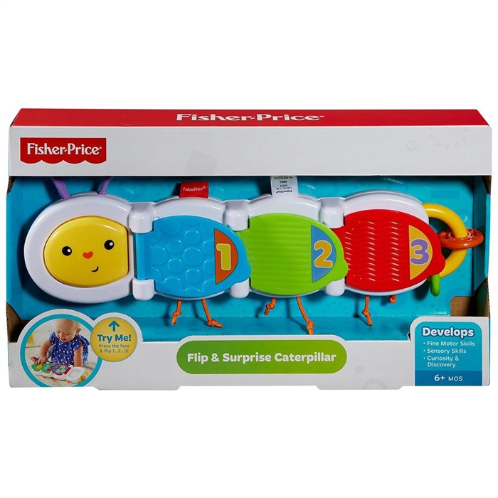 Fisher Price Sürprizli Tırtıl