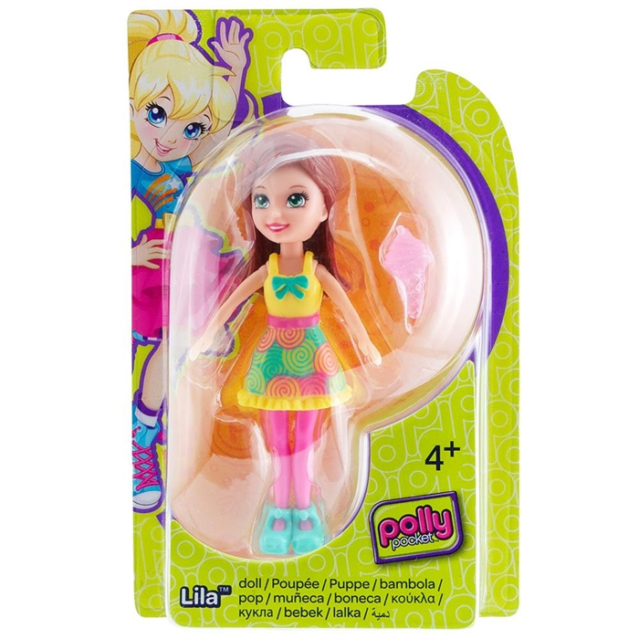 Polly Pocket Lila Bebek DHY19