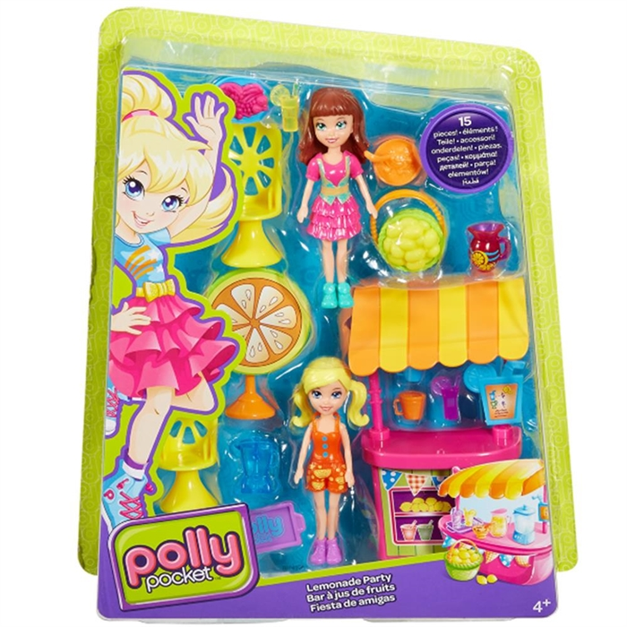Polly Pocket Limonata Partisi Oyun Seti