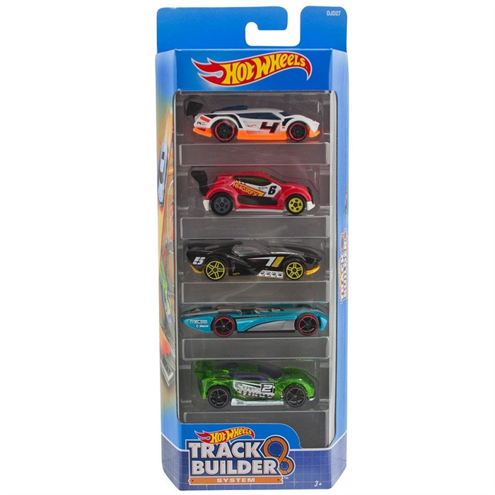Hot Wheels Beşli Araba Seti DJD27