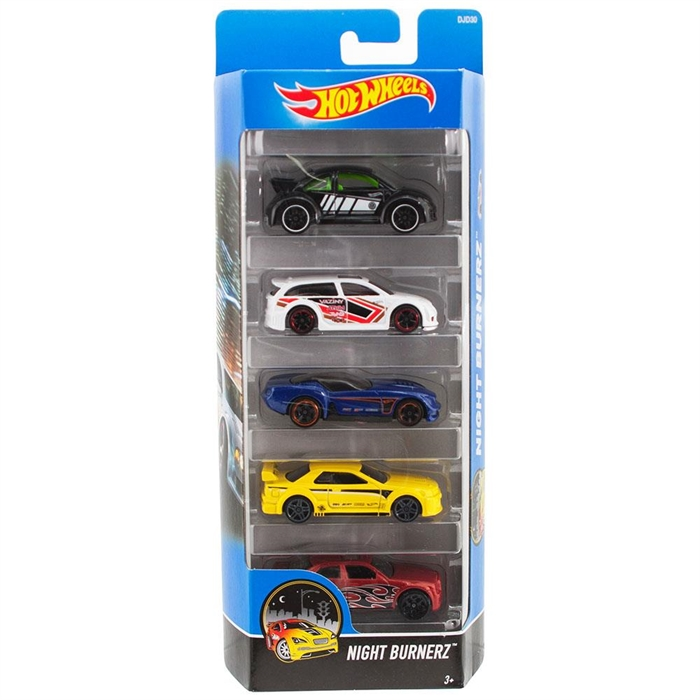 Hot Wheels Beşli Araba Seti DJD30