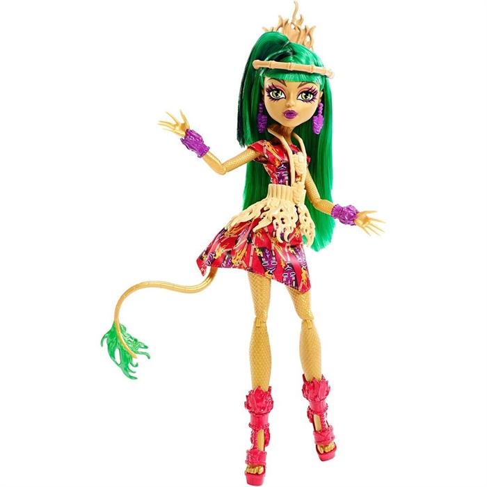 Monster High Acayipler Bahar Partisi Jinafire Long