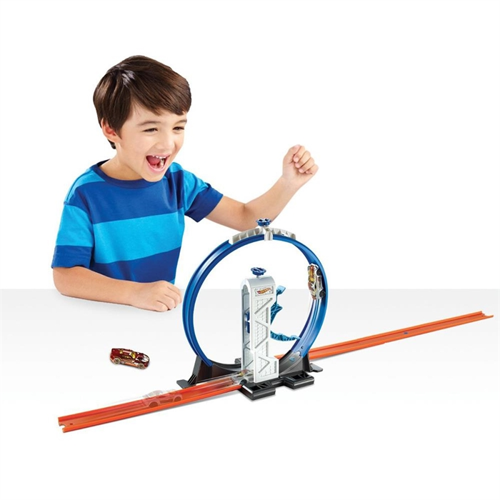 Hot Wheels Track Builders Loop Launcher