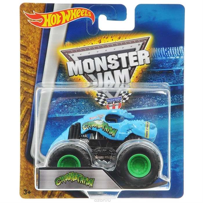 Hot Wheels Monster Jam Araçlar CrushStation