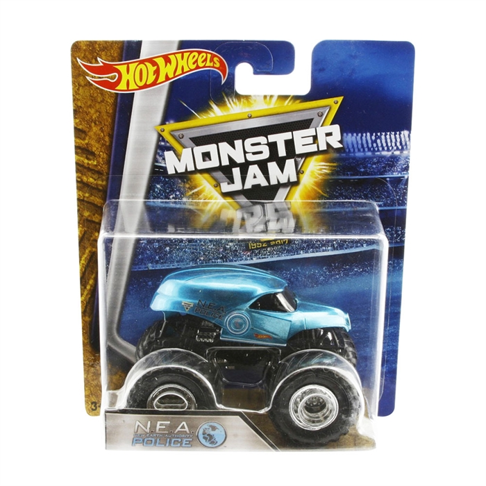 Hot Wheels Monster Jam Nea Police1:64 Oyuncak Araba