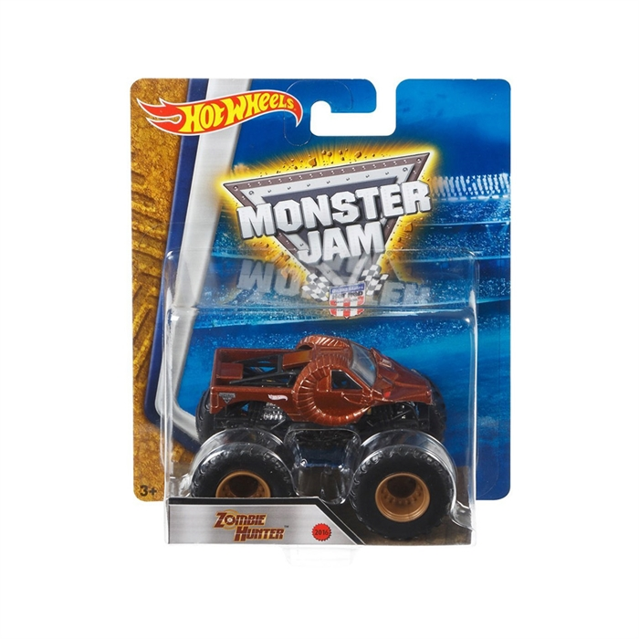 Hot Wheels Monster Jam Zombie Hunter 1:64 Oyuncak Araba