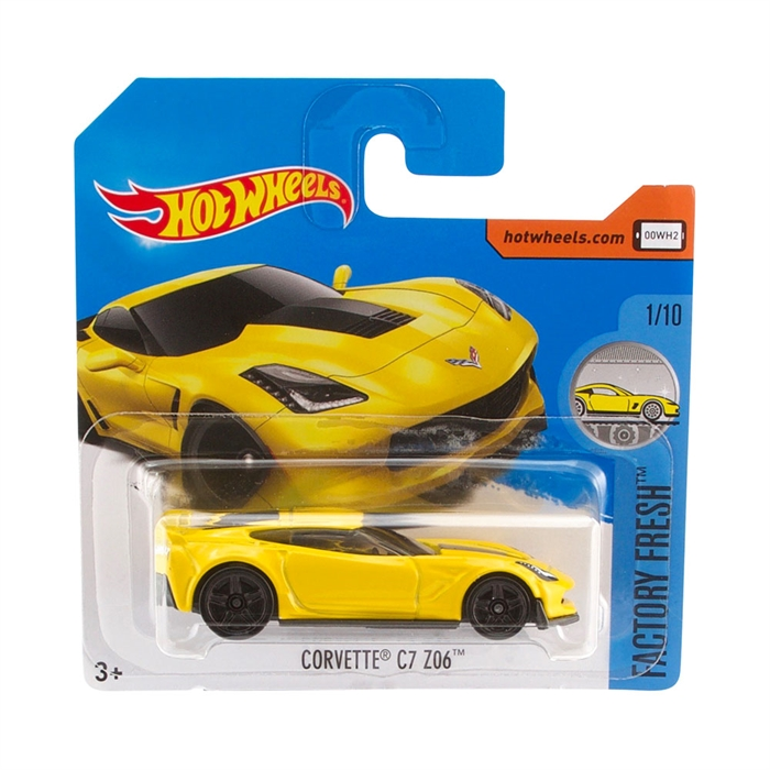 Hot Wheels Corvette C7 Z06 Metal Oyuncak Araba 7 cm