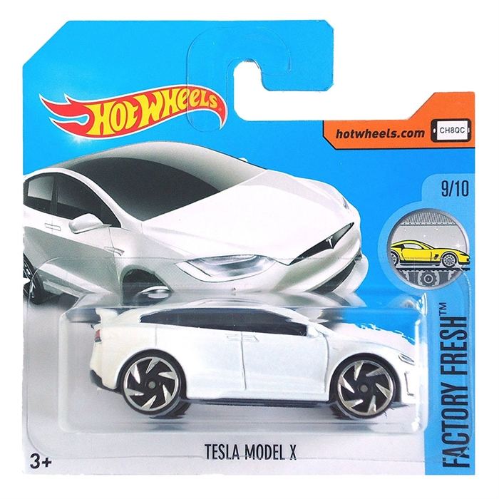 Hot Wheels Tesla Model X Metal Oyuncak Araba 7 cm