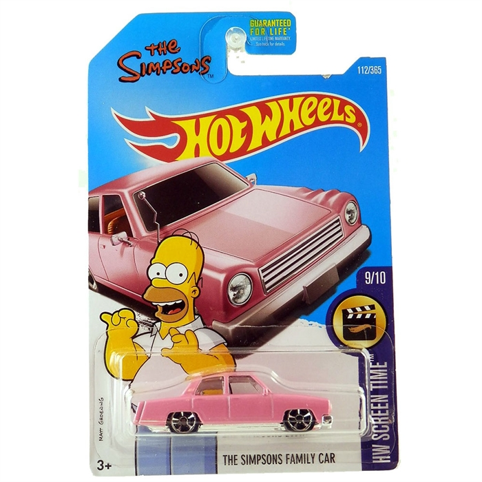 Hot Wheels Simpson's Family Car Metal Oyuncak Araba