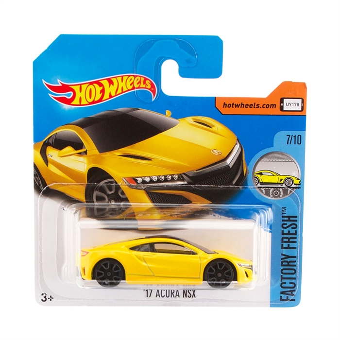 Hot Wheels 17 Acura Nsx Metal Oyuncak Araba 7 cm