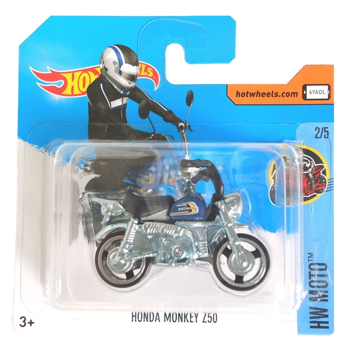 Hot Wheels Honda Monkey Z50 Metal Oyuncak Motor