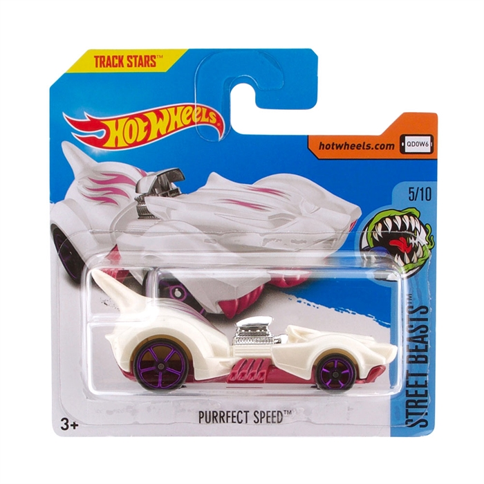 Hot Wheels Purrfect Speed Metal Oyuncak Araba 7 cm