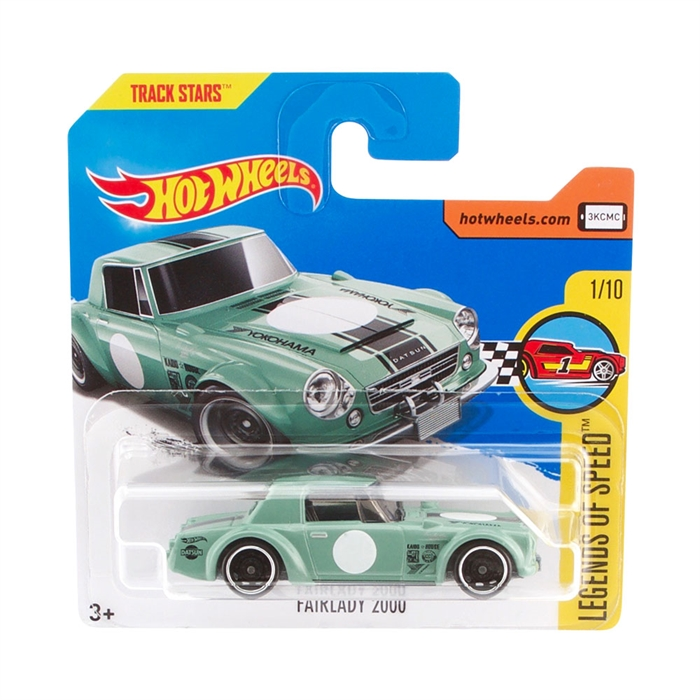 Hot Wheels Fairlady 2000 Metal Oyuncak Araba 7 cm