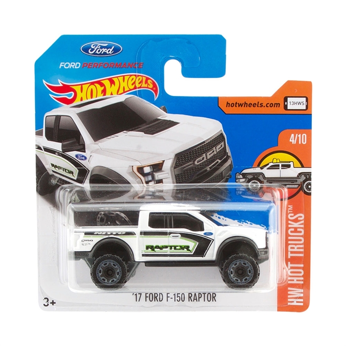 Hot Wheels 17 Ford F-150 Raptor Metal Oyuncak Araba