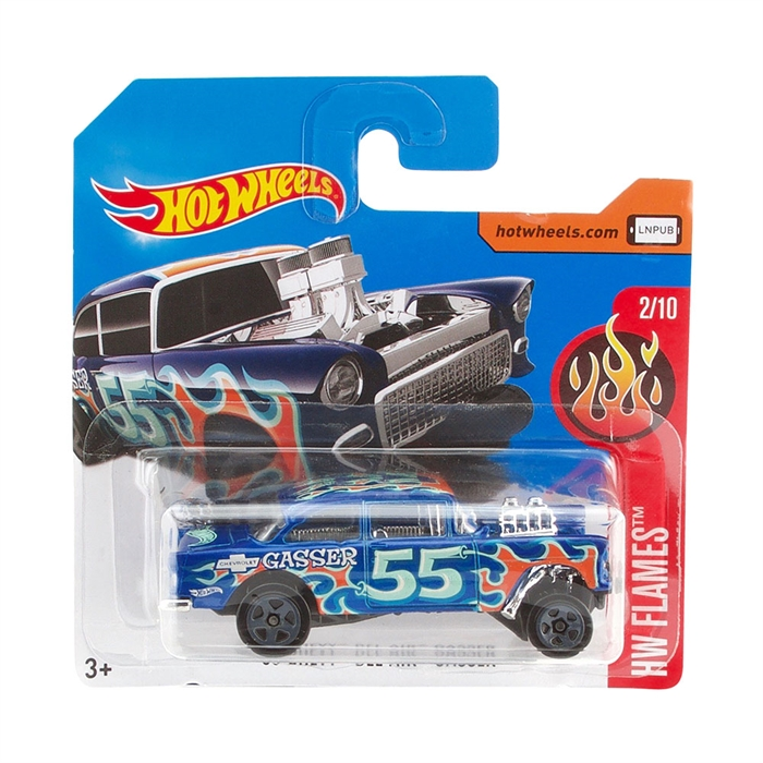 Hot Wheels 55 Chevy Bel Air Metal Oyuncak Araba 7 cm