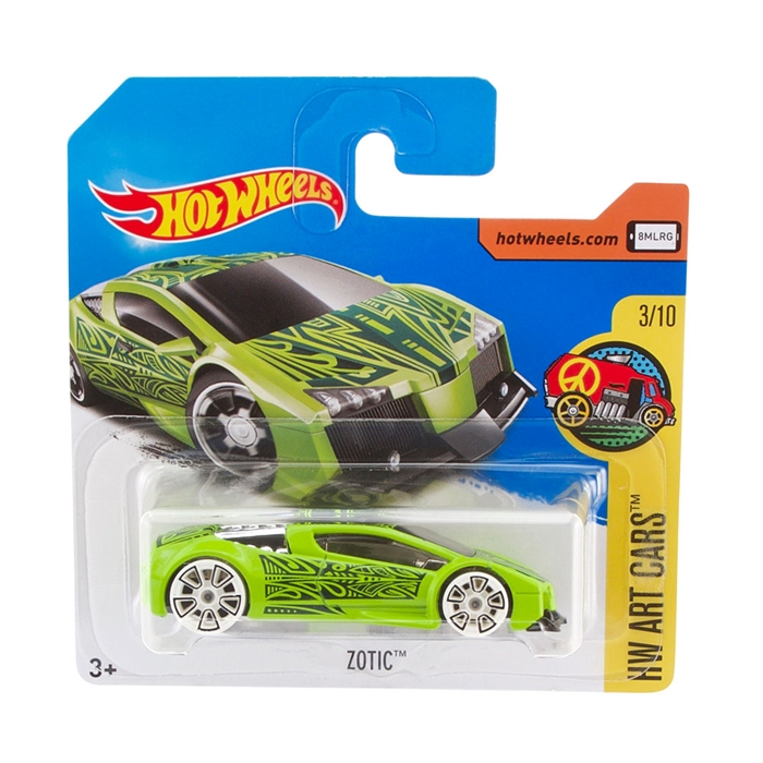 Hot Wheels Zotic Metal Oyuncak Araba 7 cm