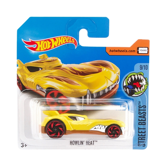 Hot Wheels Howling Heat Metal Oyuncak Araba 7 cm