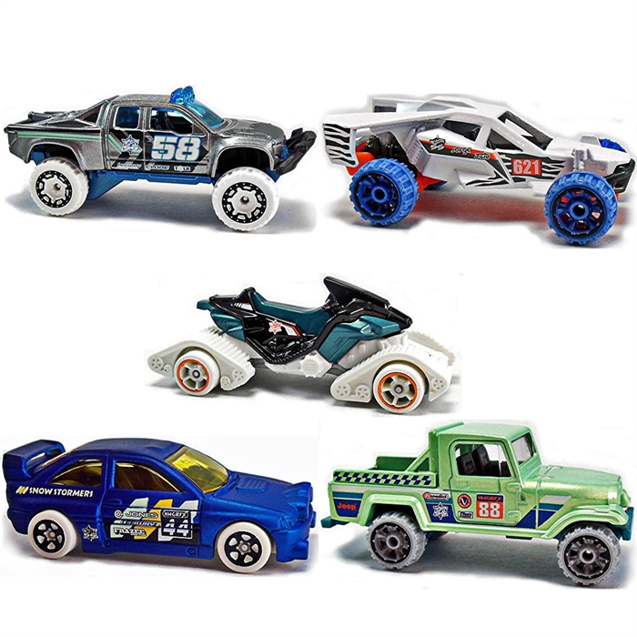 Hot Wheels Beşli Araba Seti DVF88