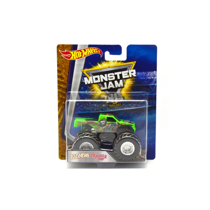 Hot Wheels Monster Jam Badnews Travels 1:64 Oyuncak Araba