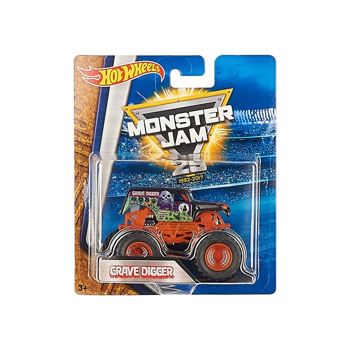 Hot Wheels Monster Jam Grave Digger 1:64 Oyuncak Araba