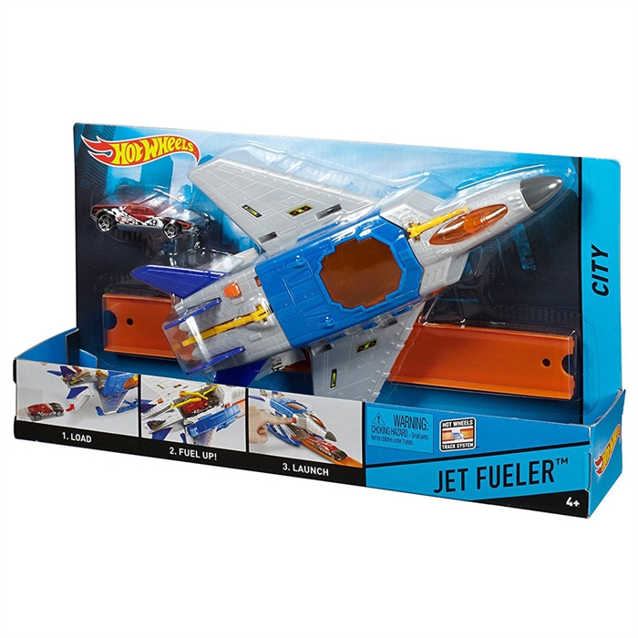 Hot Wheels Jet Fueler Kurtarma Ekibi Oyun Seti