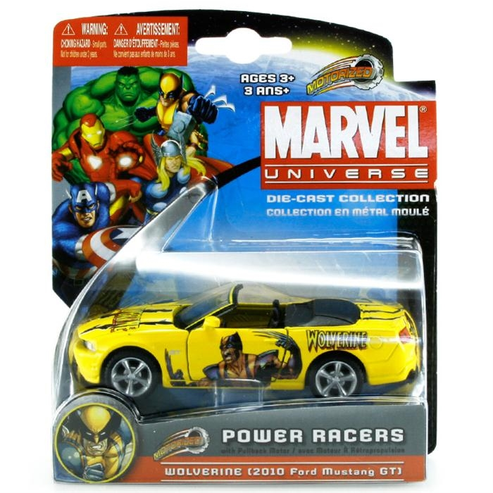 Maisto Marvel Power Racers 2010 Ford Mustang GT Araba