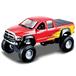 Maisto Lifters 2002 Dodge Ram Metal Model Kit 11 cm