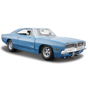 Maisto Dodge Charger 1969 1:24 Model Araba S/E Mavi
