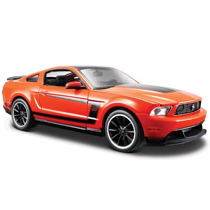 Maisto Ford Mustang Boss 302 1:24 Model Araba S/E Turuncu