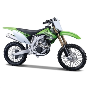 Maisto 1:12 Kawasaki KX 450F Model Maket Kit Motorsiklet