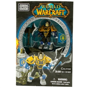 Mega Bloks World Of Warcraft Colton Figür