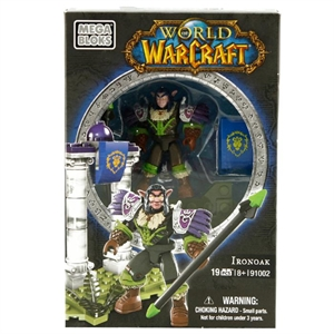 Mega Bloks World Of Warcraft Ironoax Figür
