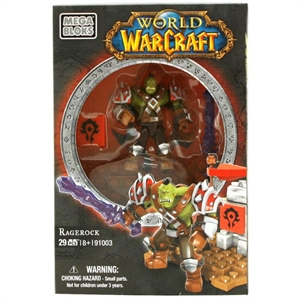 Mega Bloks World Of Warcraft Racerock Figür