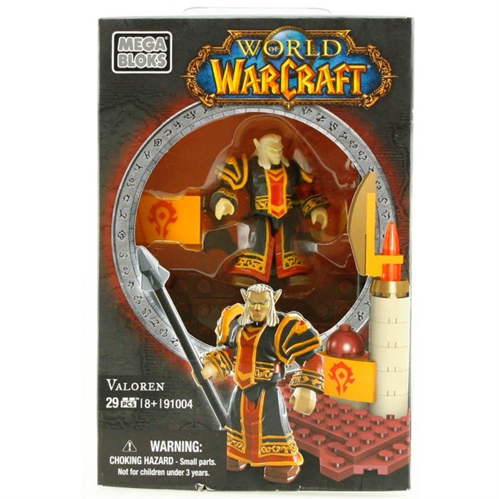Mega Bloks World Of Warcraft Valoren Figür