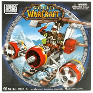 Mega Bloks World Of Warcraft Flying Machine Oyun Seti