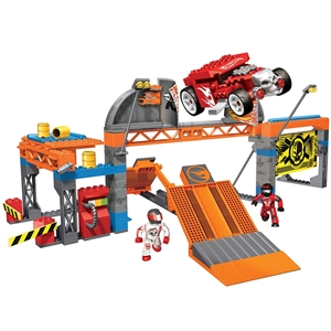 Mega Bloks Hot Wheels Blok Araç Ve Test Merkezi Oyun Seti