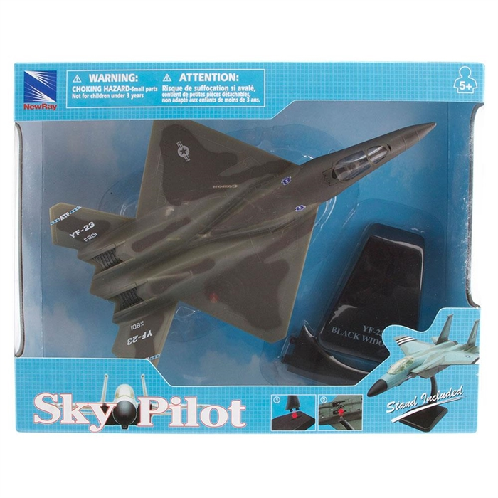 Sky Pilot YF-23 Black Wıdow 1:72 Model  Uçak