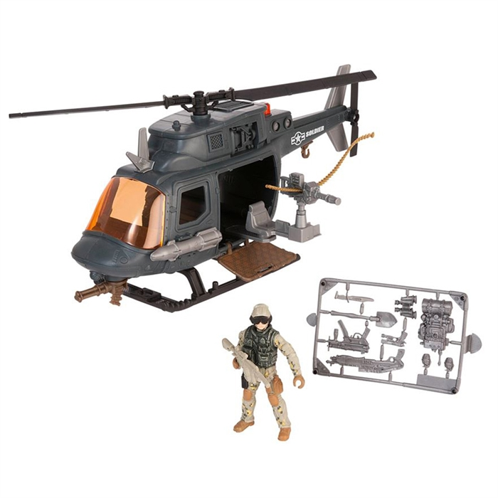 Soldier Force VIII Helikopter Oyun Seti